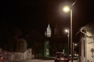 Beleuchtungsprobe St. Marien Freyburg (10)