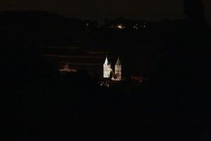 Beleuchtungsprobe St. Marien Freyburg (11)
