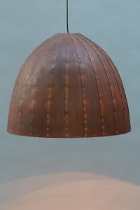 rostige Leuchte 80 cm Durchmesser (10)