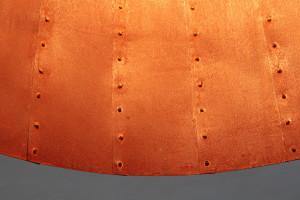rostige Leuchte 80 cm Durchmesser (3)