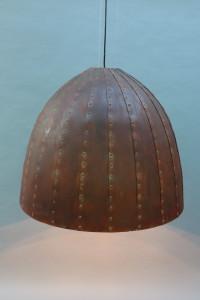 rostige Leuchte 80 cm Durchmesser (5)