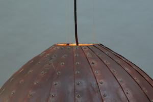 rostige Leuchte 80 cm Durchmesser (6)